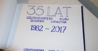 Częstochowscy Seniorzy Lotnictwa obchodzili 35 rocznicę powstania ich Klubu
