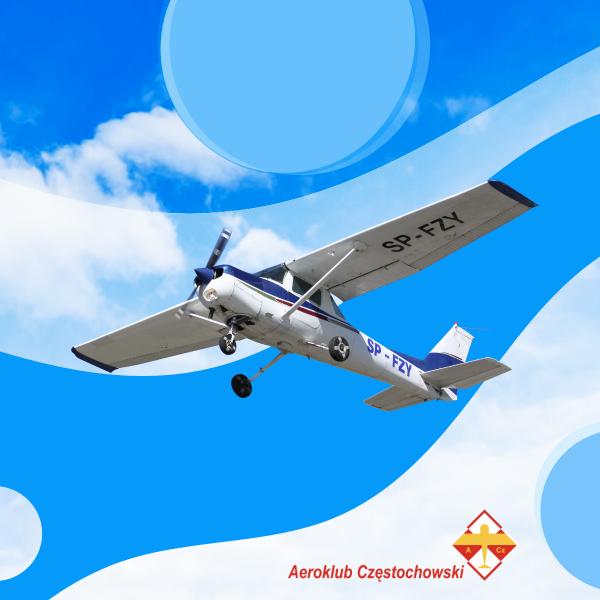 Lot zapoznawczy samolotem 10 min - Aeroklub Częstochowski